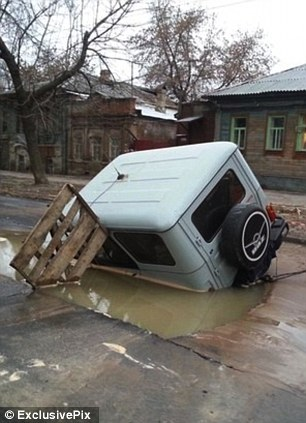 There has reportedly been at least one fatality as a result of the sinkholes in the city, Russia's sixth largest