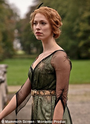 Leading ladies: Sheridan Smith in Mrs Biggs and Rebecca Hall in Parade's End are both up for Leading Actress