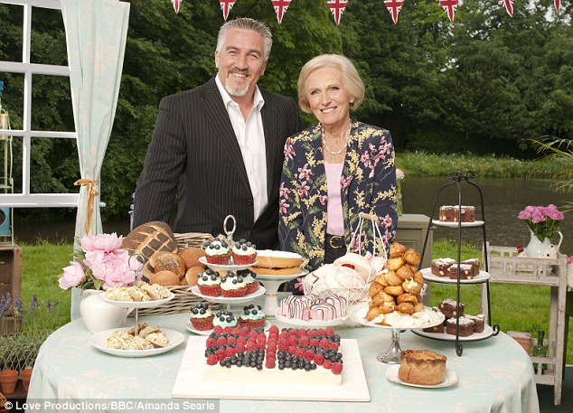Popular: The Great British Bake Off, starring Mary Berry and Paul Hollywood, is up for Features and the Audience Award