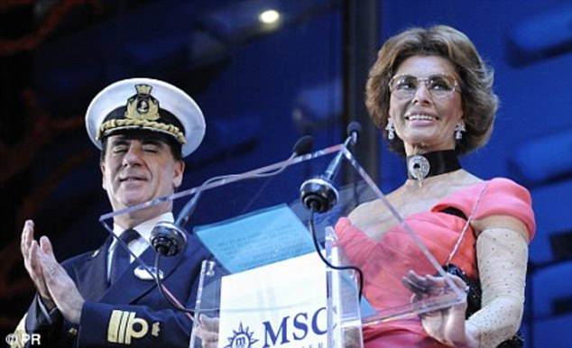Famous godmothers: Princess Cruises has a history of celebrated godmothers including Audrey Hepburn and Sophia Loren
