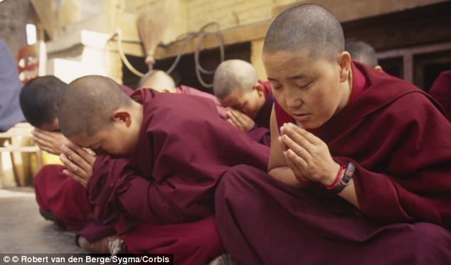 Tibetan nuns are able to use meditation techniques to increase their core body temperature