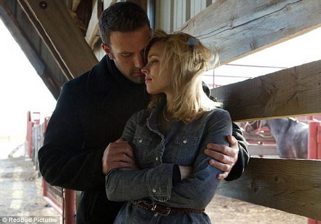 Stars of the show: Affleck and McAdams in Terence Malick film To the Wonder