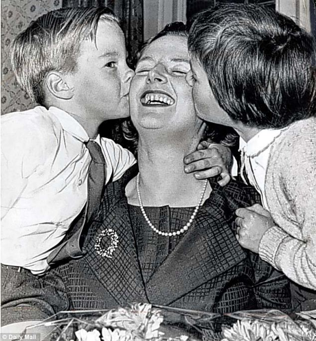 In 1953 Lady Thatcher was 28 when her twins were born.