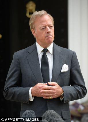 Sir Mark Thatcher, son of former British Prime Minister Margaret Thatcher