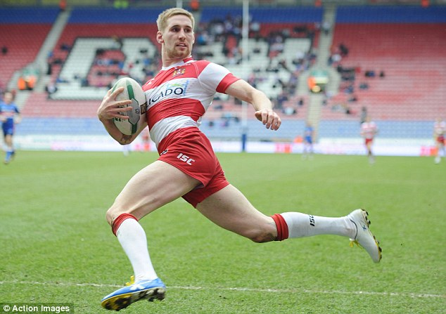 Looking down on Super League: Tomkins and Wigan are on top