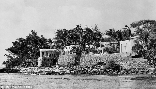 Home: Doris Duke moved bounced around several lavish homes, including this mansion in Honolulu, Hawaii. She also owned a 2,700-acre farm in New Jersey and a mansion on East 78th Street in Manhattan