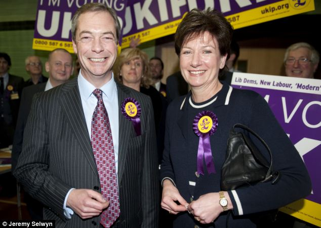 UKIP leader Nigel Farage hopes to build on the party's success in February's Eastleigh by-election, when candidate Diane James pushed the Tories into third place