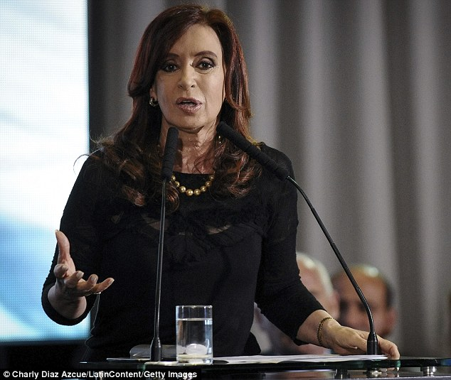 Against: Renaming it after Lady Thatcher would infuriate Argentina's erratic president Cristina Fernandez de Kirchner, who has been making increasingly provocative remarks about the sovereignty of the islands