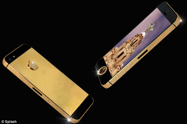 This one of a kind solid gold, black diamond encrusted iPhone 5 is said to be the most expensive in the world