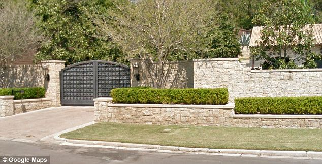 Guarded: Armstrong bought the house in 2004 and spent years renovating it. The sale comes as little surprise since he is facing multiple million-dollar lawsuits over his doping scandal
