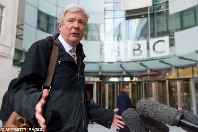 New director general Tony Hall defended playing the clip, saying: 'I do believe it would be wrong to ban the song outright as free speech is an important principle and a ban would only give it more publicity'