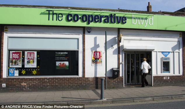 Archer was jailed for stealing a charity box for The Carer's Trust from the Co-op store in Llandudno Junction