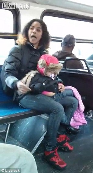 Baby bus fight