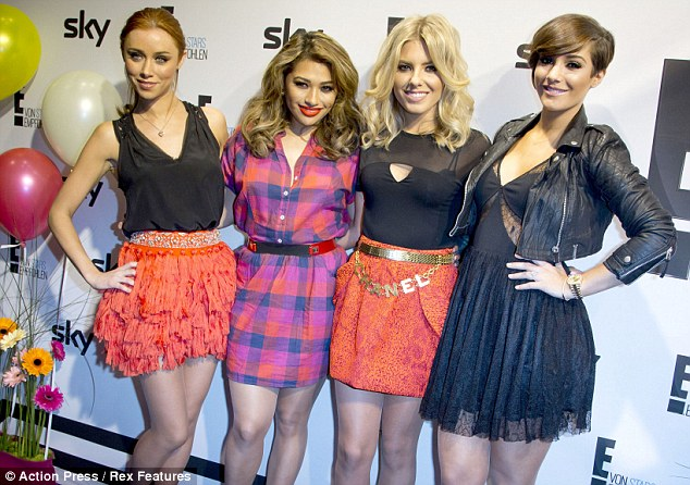 Taking over! After chasing America, now The Saturdays are taking on Germany