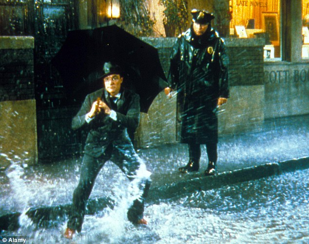 Singin' in the Rain (1952), Starring Gene Kelly as Don Lockwood. Men preferred the classic Kelly routine with 28 per cent compared to 39 per cent of women who voted for The Time of my Life