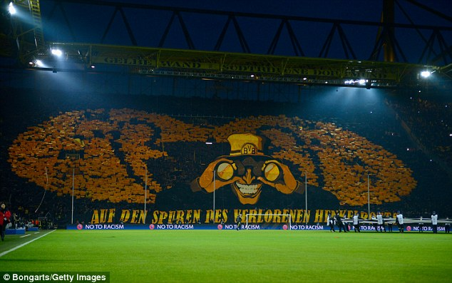 Lost trophies: Borussia are hoping to win their first Champions League since 1997