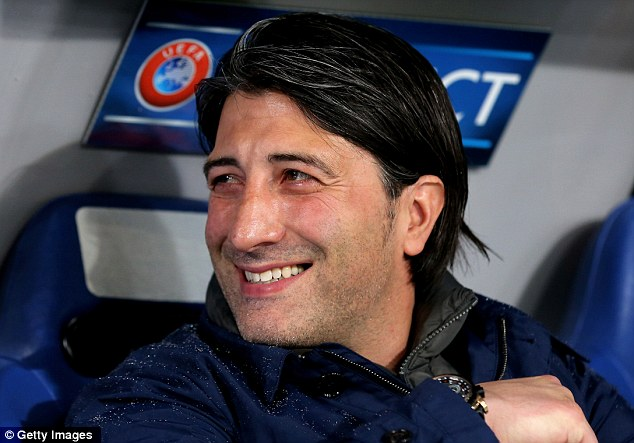 Bold: Basel coach Murat Yakin has created a forward-thinking team that's exciting to watch