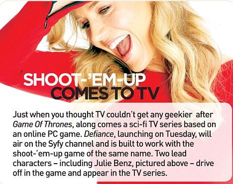 Shoot-'em-up comes to TV