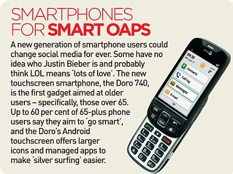 Smartphones for smart oaps