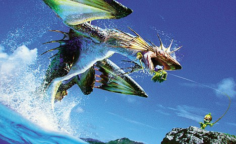 Monster Hunter is a game where you hunt huge, scaly beasts that can be turned into steaks, clothing and weapons!