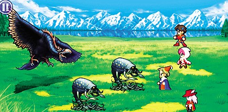 Final Fantasy V offers hours of adventure, a cast of thousands and a plot of the purest gibberish, featuring goblins and magic crystals