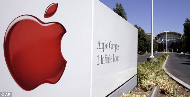 Domination: Apple's ten-year-old iTunes store is already the market leader in music sales. Pictured is the Apple headquarters in Cupertino, California