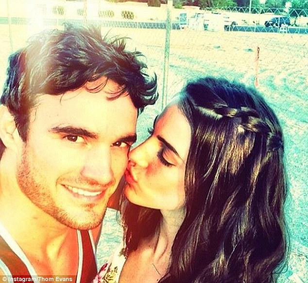 'Lovin life': It hasn't taken Thom long to move on from Kelly Brook