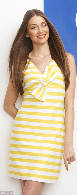 Dress, £330, katespade.com