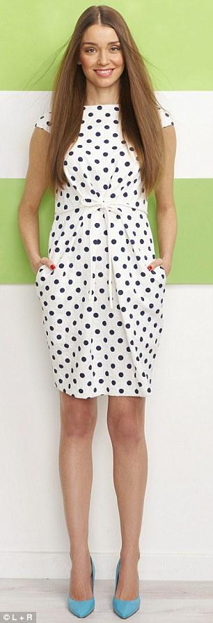 Dress, £395, Carolina Herrera, 020 7581 3031