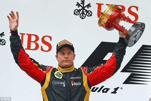 Challenger: Kimi Raikkonen recovered from front-wing damage to finish second