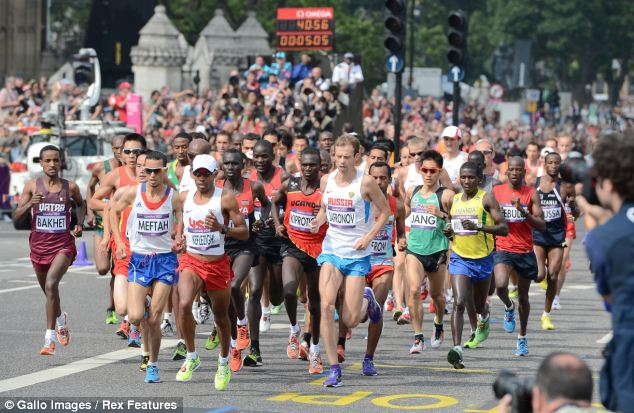 The research by Loughborough University was released a week before the London Marathon 2013