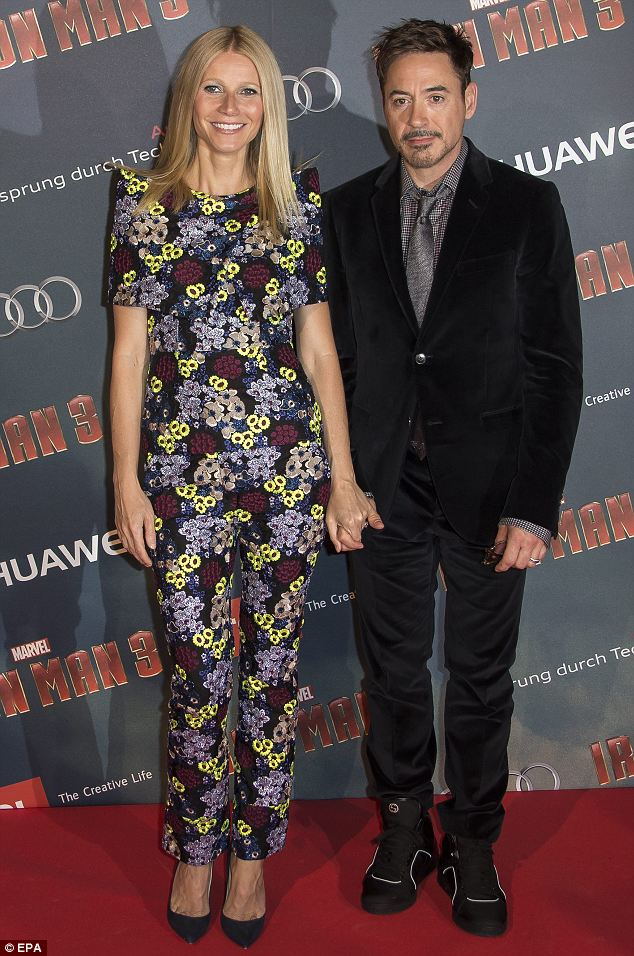 Long time: The pair have worked together for many years after the first Iron Man film was released in 2008