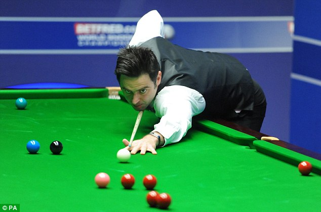 Rocket: O'Sullivan beat Ali Carter 18-11 in last season's World Championship final but hasn't played so far this season in ranking competition