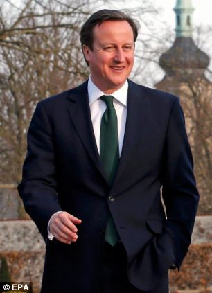 David Cameron said it was 'amazing' that Labour opposed the idea of ensuring jobless families could not receive more in handouts than those in work