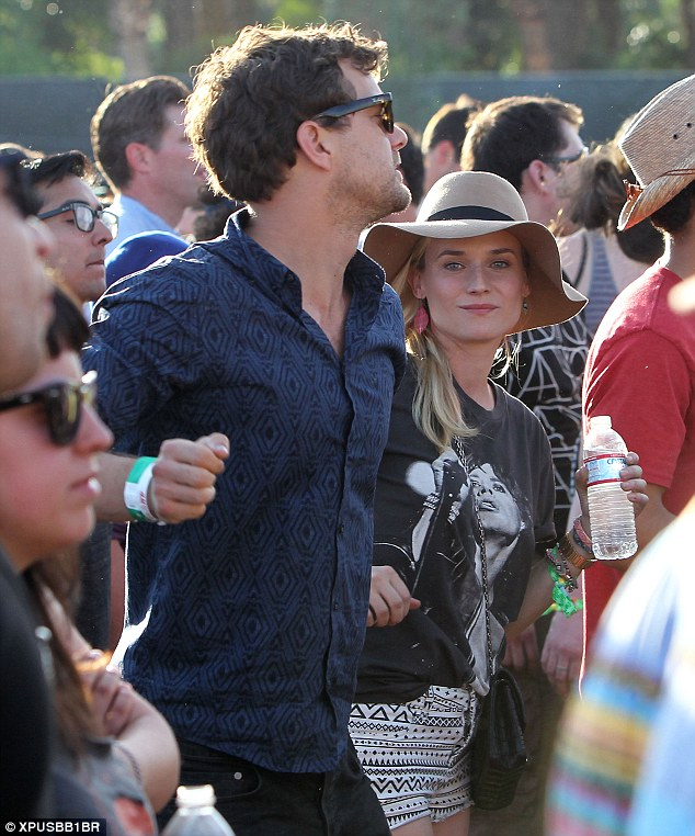 Coachella's reigning royalty: Jackson and Kruger enjoyed the entirety of the festival's first weekend