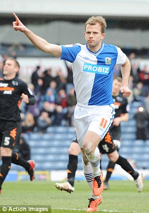 Prolific: Rhodes has scored 26 in all competitions