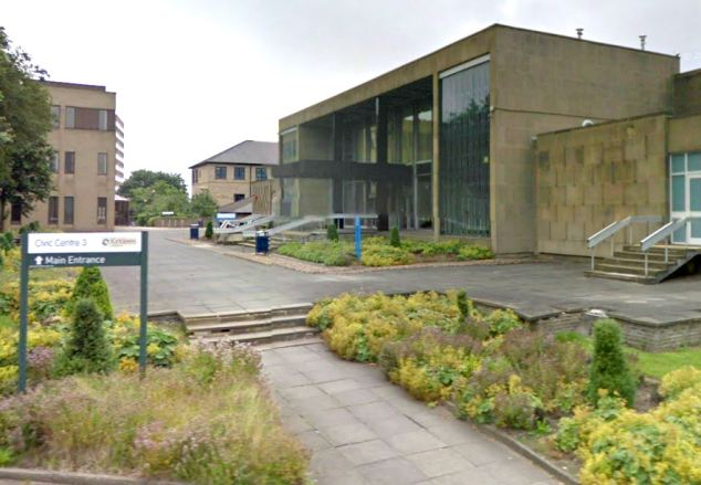 Kirklees Magistrates' Court, where prisoners due to appear in court had to be locked up in a nearby police station because the cells were deemed too chilly