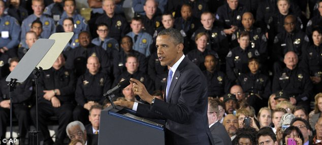 President Barack Obama has leveraged the December Sandy Hook Elemtary School massacre into a call for more gun control