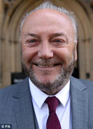 Bradford West MP George Galloway