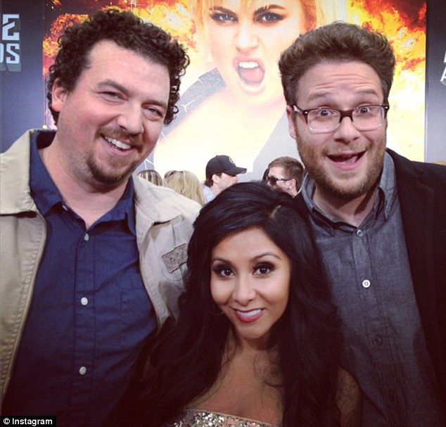 'LOVE THIS!': She posed with Danny McBride and Seth rogen
