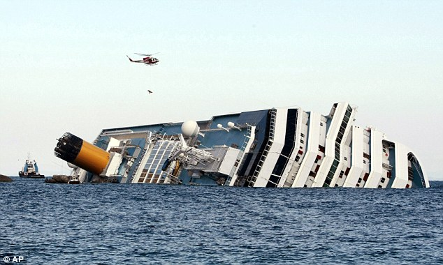Thirty-two people died when the Costa Concordia sank making it the worst maritime disaster in Italy since the Second World War