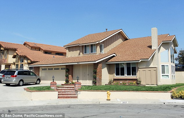 Moved out: Nadya 'Octomom' Suleman has reportedly been evicted from her house in Palmdale, California