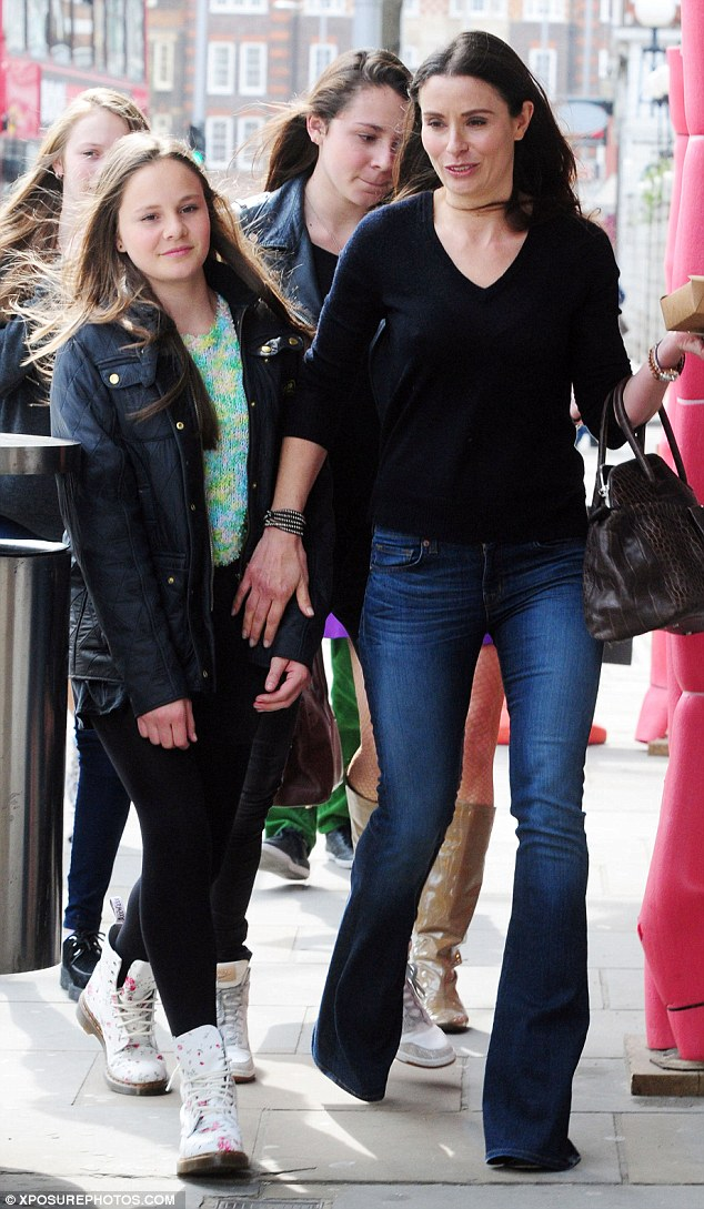 Celebration: Tana Ramsay has been pals with Victoria for years and the two families often spend Christmases together