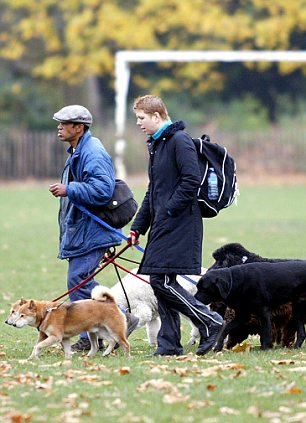 Moonlighting: Services such as fixiing bikes or walking other people's dogs could bring in extra cash.