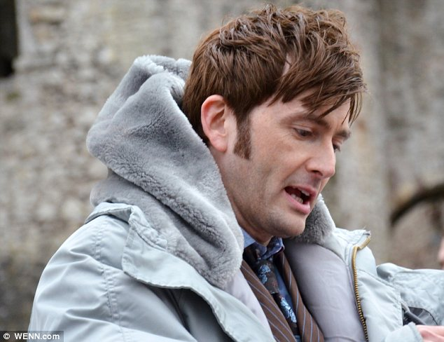 He's back! David, who left the show in 2010, has said that it is a real treat being back on the set of Doctor Who