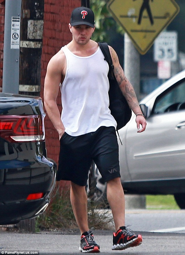 Is it over? Ashley was rumoured to be dating actor Ryan Phillippe, pictured in March