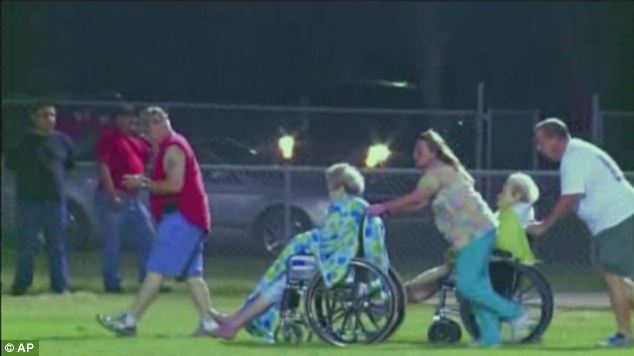 This video image porvided by KWTX-TV shows some of the injured from an explosion