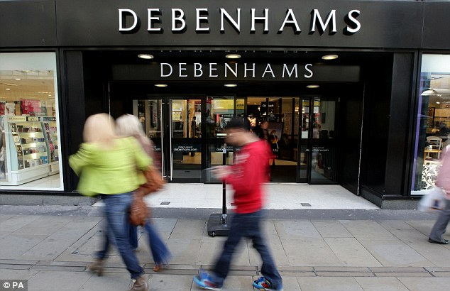 Debenhams was in the spotlight after it said profits dropped to £120.3 million for the six months to March 2, in line with last month's warning about sales following a snow-hit start to the year