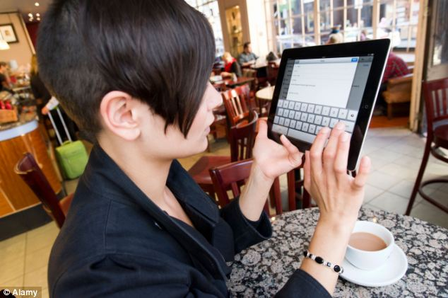 Many users have struggled to type on tablets - but the new design could increase their speed dramatically