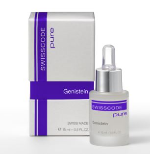 Swisscode have harnessed genistein, found in soya beans, to fight the signs of aging